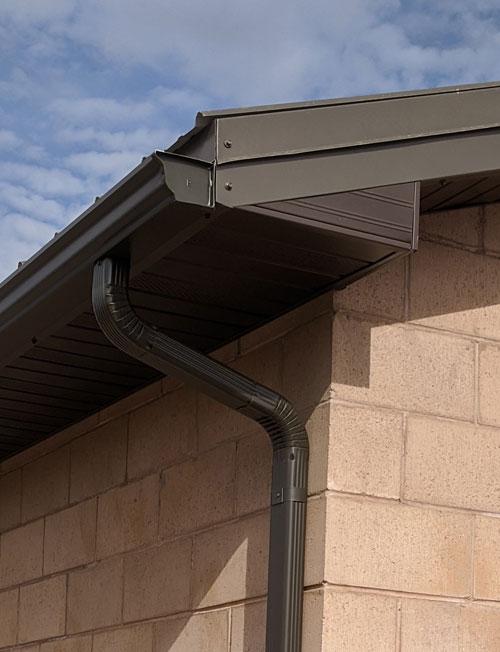 installed gutter